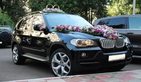 Заказ автомобиля на свадьбу Х5